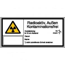 Radioaktiv, Außen...