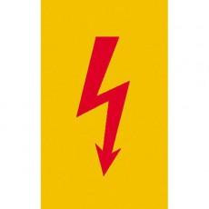 Spannungszeichen (Roter Blitz) |Elektrozeichen B2B Schilder