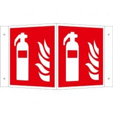 Feuerlöscher Winkelschild | Brandschutzschild B2B Schilder
