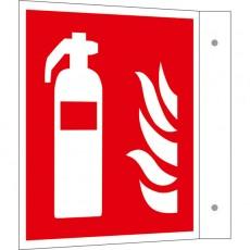 Feuerlöscher Fahnenschild | Brandschutzschild B2B Schilder