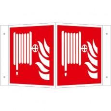 Löschschlauch Winkelschild | Brandschutzschild B2B Schilder